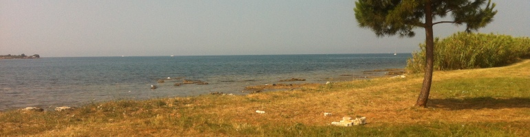Campingplatz-Strand