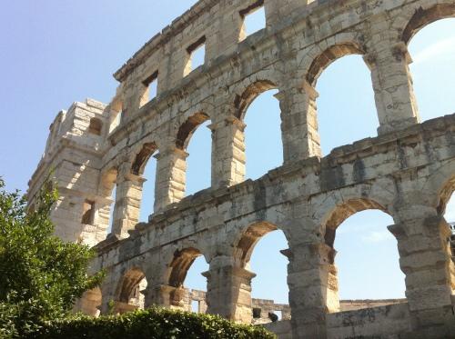 Noch mal Amphitheater von Pula