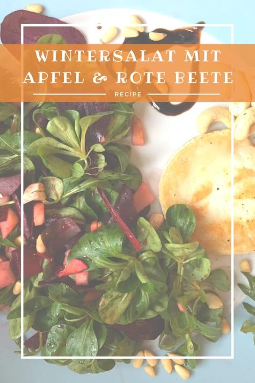Rote Beete Salat mit Apfel