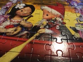 Sandmännchenpuzzle