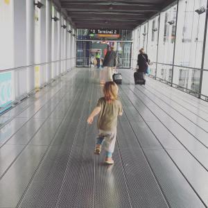 Kind2 am Flughafen Köln/Bonn