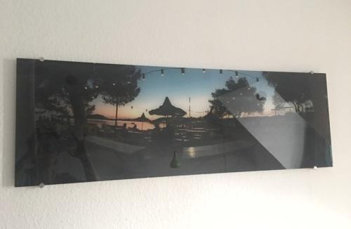 Urlaubsfotos auf Acrylglas