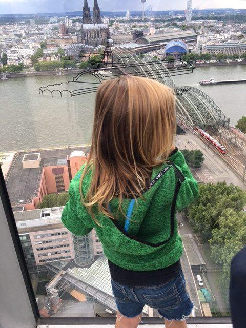 Aussicht über Köln