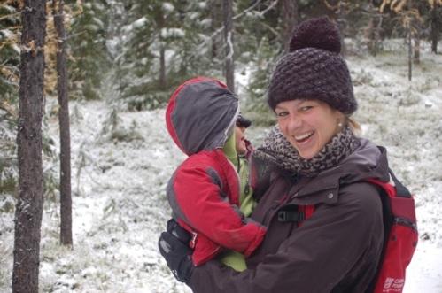 For Family Reisen - Nadja im Schnee