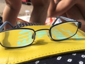 Brille aus Titanflex