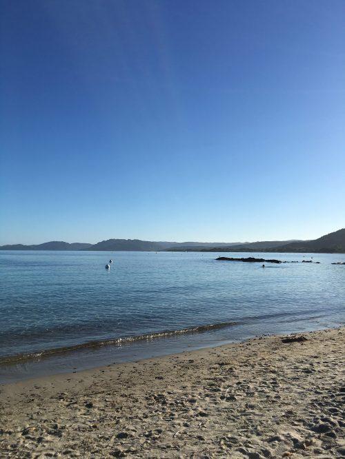 Pinarellu Strand, Korsika