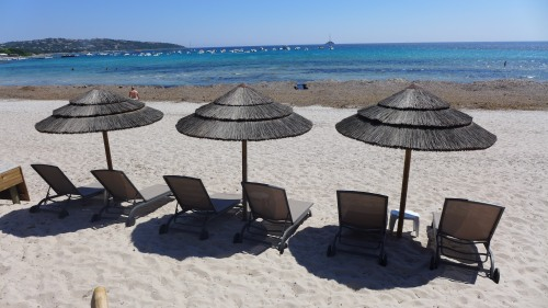 Sandstrand von Pinarellu, Korsika